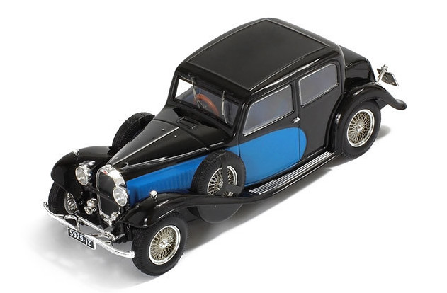 MUS058 IXO (MUS) 1/43 BUGATTI Type 57 Galibier 1935 black and blue