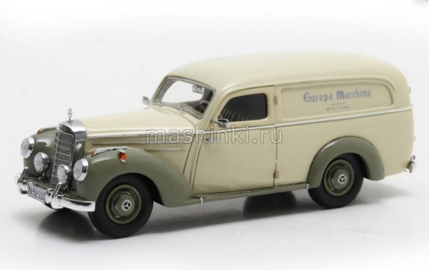 MX11302-201 14+ MATRIX MATRIX 1/43 MERCEDES-BENZ 220 Lieferwagen by Autenrieth (фургон) 1952 cream