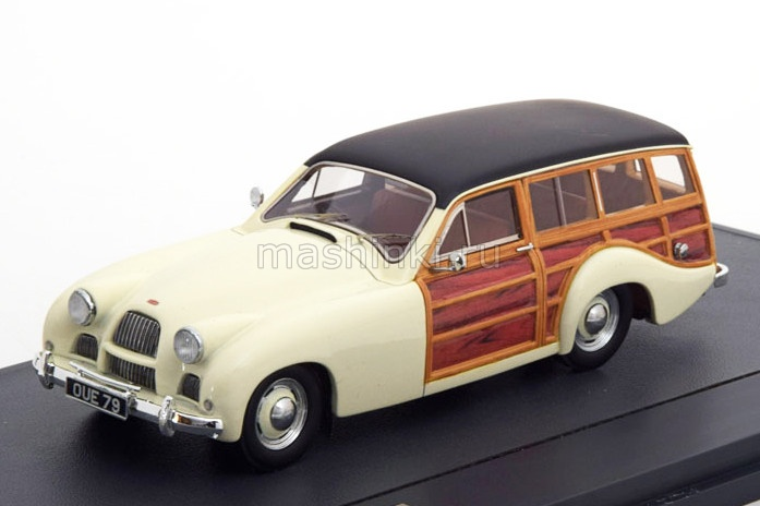 MX40103-031 14+ MATRIX MATRIX 1/43 ALLARD P2 Safari Station Wagon 1954 white/wood