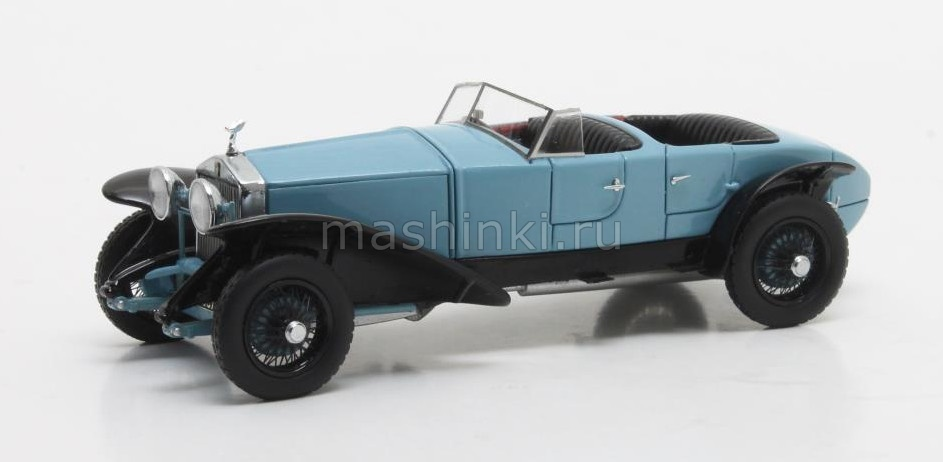 MX41705-122 14+ MATRIX MATRIX 1/43 ROLLS-ROYCE Phantom Experimental №10EX by Barker 1926 blue/black