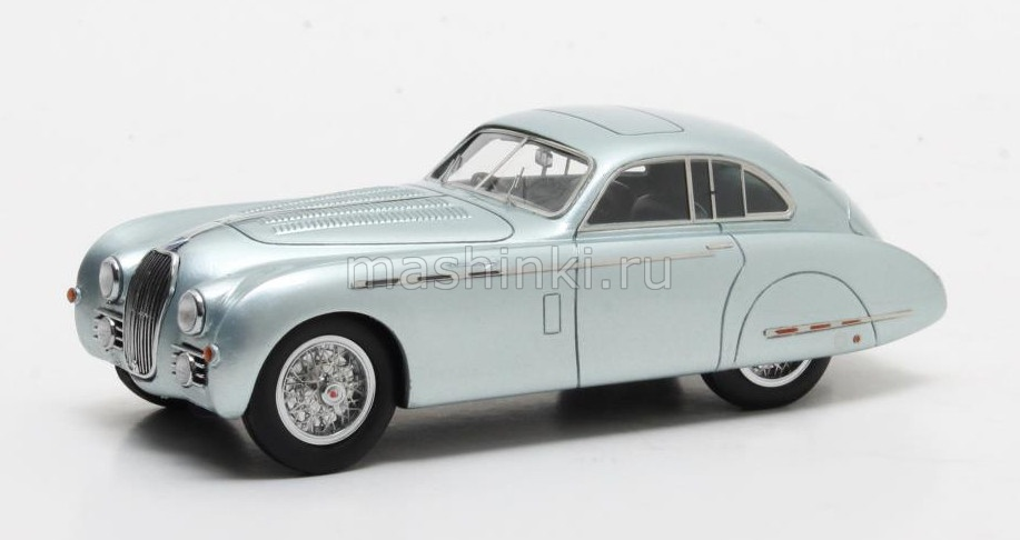MX41904-021 14+ MATRIX MATRIX 1/43 TALBOT LAGO T26 Grand Sport Saoutchick 1950 metallic blue
