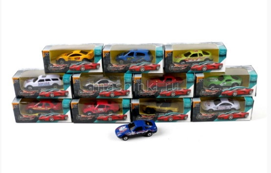MZ516 03+ МАШИНКИ (малые бренды) ALLOY CAR Машина металл в асс. TOPSPEED