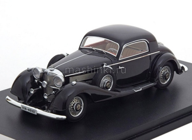 NEO46167 14+ NEO NEO 1/43 MERCEDES-BENZ 540K Sport Coupe 1936 black
