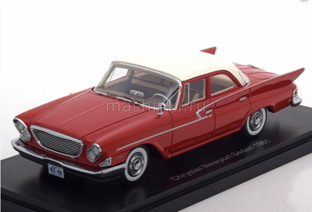 NEO46460 14+ NEO NEO 1/43 CHRYSLER Newport Sedan 1961 red/white