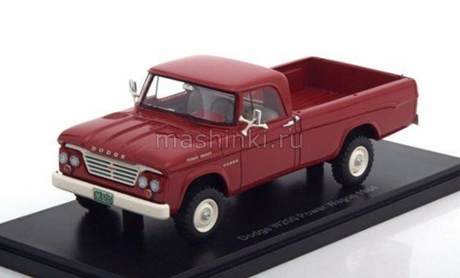 NEO46715 14+ NEO NEO 1/43 DODGE W200 Power Wagon Pick-up 1964 red
