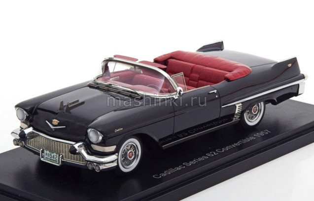 NEO49542 14+ NEO NEO 1/43 CADILLAC Series 62 Convertible 1957 black