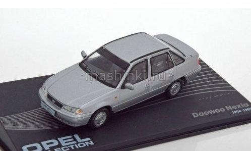 OP115 14+ IXO OPEL COLLECTION IXO-OPEL 1/43 DAEWOO Nexia 1994 silver