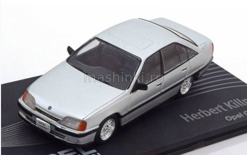 OP124 14+ IXO OPEL COLLECTION IXO-OPEL 1/43 OPEL Omega A Herbert Killmer 1994 silver