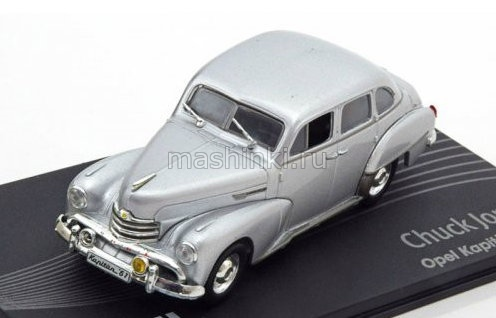 OP134 14+ IXO OPEL COLLECTION IXO-OPEL 1/43 OPEL Kapitan Chuck Jordan 1951 silver