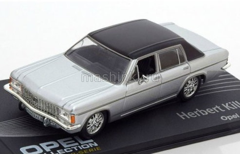 OP137 14+ IXO OPEL COLLECTION IXO-OPEL 1/43 OPEL Admiral B Herbert Killmer 1969 silver-black