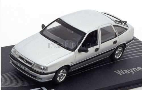 OP138 14+ IXO OPEL COLLECTION IXO-OPEL 1/43 OPEL Vectra A Wayne Cherry 1988 siver