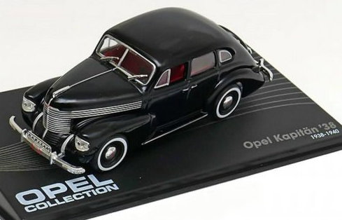 OP13 IXO OPEL COLLECTION IXO-OPEL 1/43 OPEL Kapitan 1938-1940 black