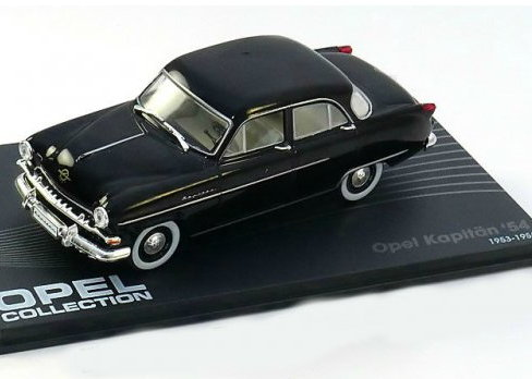 OP34 IXO OPEL COLLECTION IXO-OPEL 1/43 OPEL Kapitan 1954 black