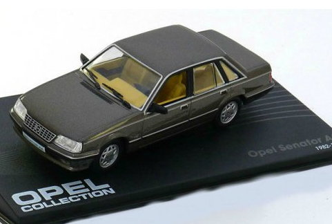 OP39 IXO OPEL COLLECTION IXO-OPEL 1/43 OPEL Senator A2 1982-1986 metallic grey