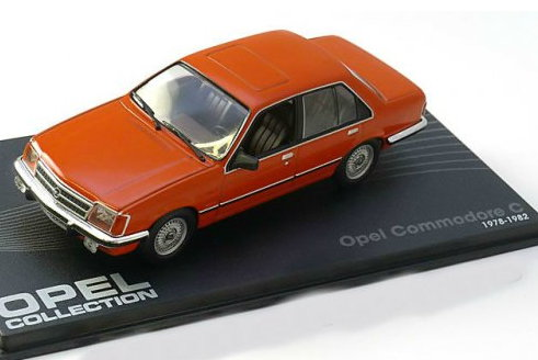 OP49 IXO OPEL COLLECTION IXO-OPEL 1/43 OPEL Commodore C Sedan 1978-1982 orange