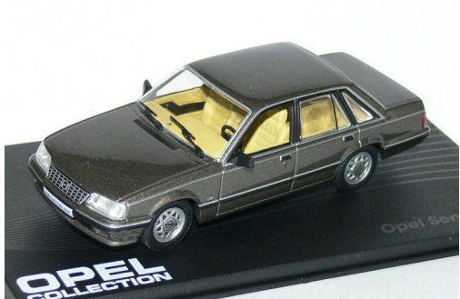 OP58 IXO OPEL COLLECTION IXO-OPEL 1/43 OPEL Senator B 1987-1993 grey