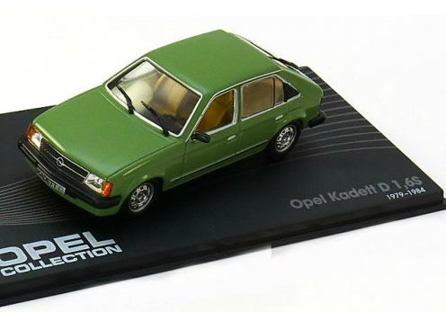 OP60 IXO OPEL COLLECTION IXO-OPEL 1/43 OPEL Kadett D 1,6S 5-дверей 1979-1984 green