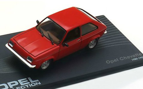 OP64 IXO OPEL COLLECTION IXO-OPEL 1/43 OPEL Cevette 1980-1982 red