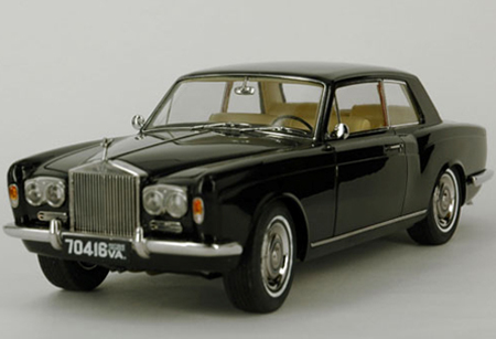 PA-98202L PARAGON MODELS ROLLS-ROYCE Silver Shadow MPW 2- doors Coupe 1968, black