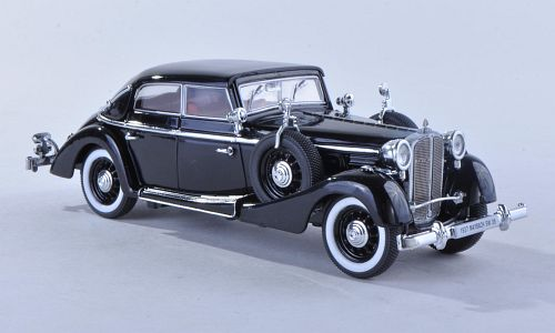 PM-43703 SIGNATURE MODELS SIGNATURE 1/43 MAYBACH SW 38 Cabriolet Spohn 1935 black