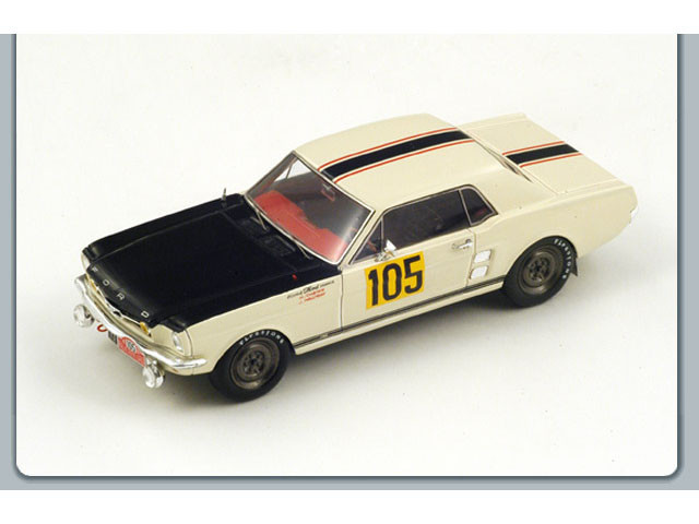 S2634 SPARK Ford Mustang #105 Monte Carlo 1967 J Hallyday  1967