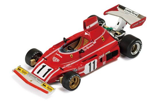 SF17/74 IXO FERRARI 312 B3/74  Winner German 1974