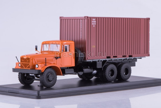 SSM1148 14+ SSM (START SCALE MODELS) SSM 1/43 КРАЗ-257Б1 контейнер