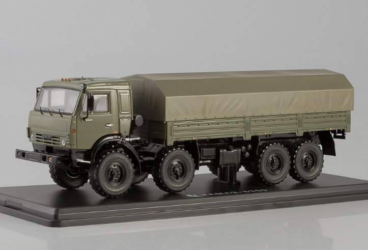 SSM1240 SSM (START SCALE MODELS) SSM 1/43 КАМАЗ-6350 8х8 Мустанг