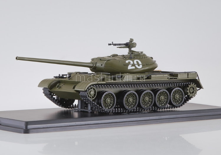 SSM3021 14+ SSM (START SCALE MODELS) SSM 1/43 Т-54-1 танк хаки