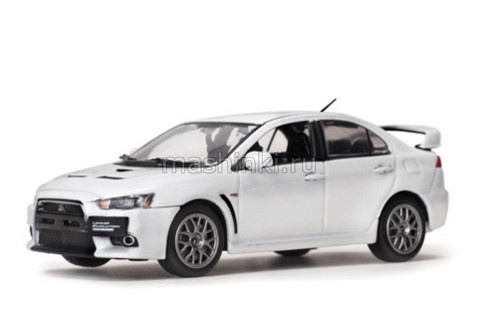 VSS29296 14+ VITESSE VITESSE 1/43 MITSUBISHI Lancer Evo X Final Edition 2015 metallic white