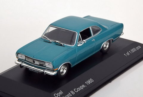 WB099 WHITEBOX Opel Rekord B Coupe  turquoise met