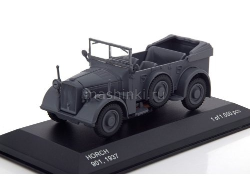 WB257 14+ WHITEBOX WHITEBOX 1/43 HORCH-901  (Kfz.15) 1937 matt dark grey