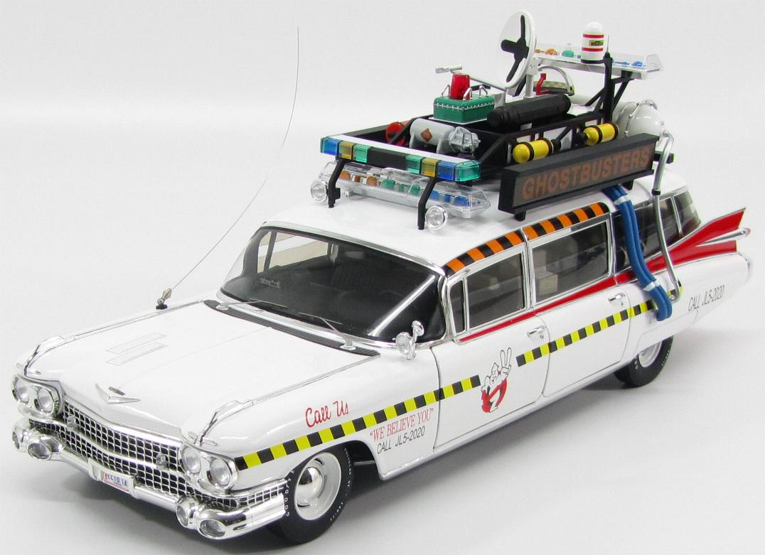 X5470 MATTEL HOT WHEELS CADILLAC 62-SERIE ECTO-1 GHOSTBUSTERS  1984