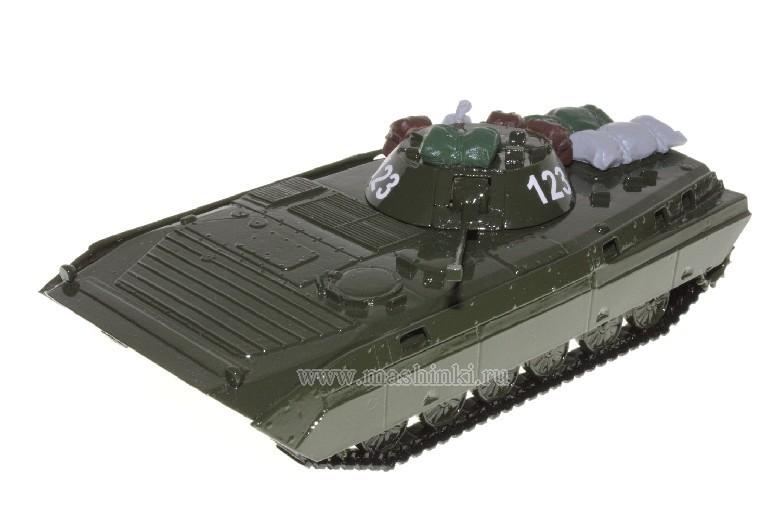 *(45) SMM (SCALE MODEL MAZ) БМП-2Д АФГАНИСТАН