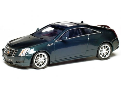101140 LUXURY COLLECTIBLES Cadillac CTS Coupe 2011 Thinder Gray
