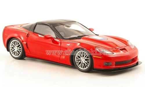 101256 LUXURY COLLECTIBLES CHEVROLET CORVETTE ZR1 2010 (red)