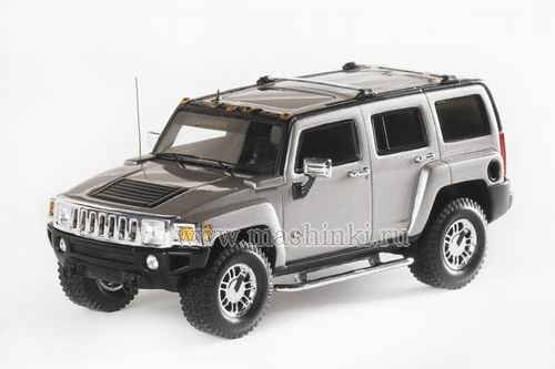 101270 LUXURY COLLECTIBLES HUMMER H3 2006 (grey metallic)