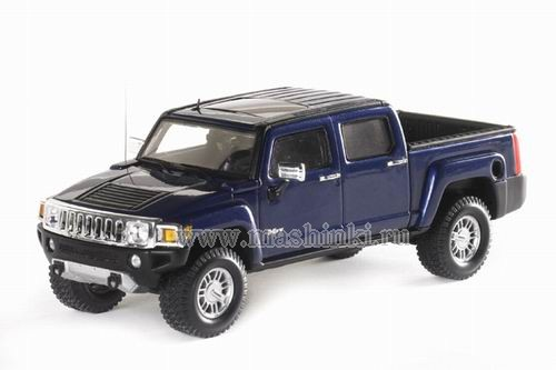 101317 LUXURY COLLECTIBLES HUMMER H3T 2008 (all terrain blue)