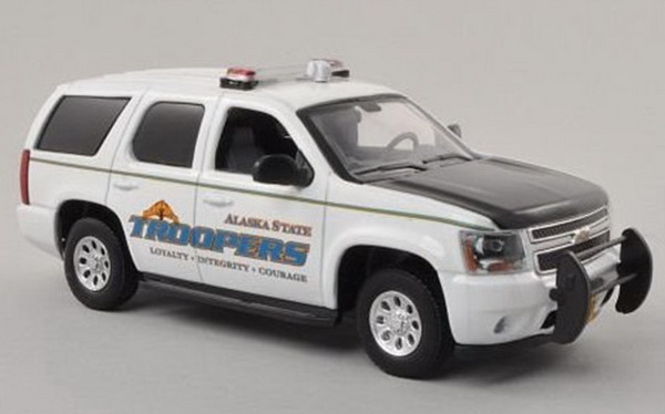 194457 FIRST RESPONSE Chevrolet Tahoe Alaska State Troopers Police USА. 2011