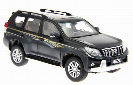 2231GE PAUDIMODEL Toyota Land Cruiser Prado - dark grey-green 2011