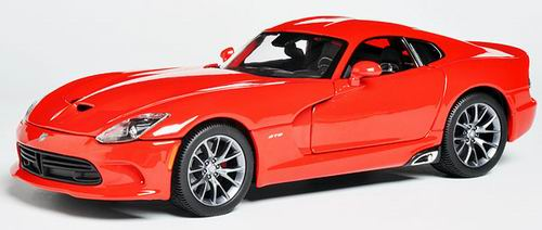 31128 MAISTO Dodge Viper SRT GTS - red 2013