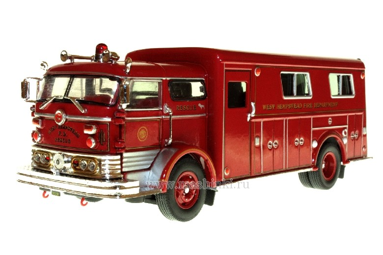 32425 SIGNATURE MODELS 1960 MACK C RESCUE BOX  WEST