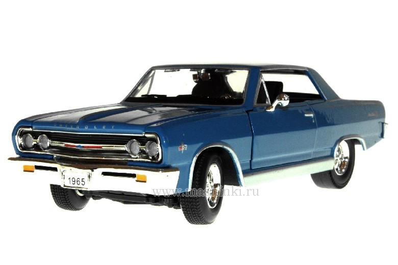 32432 SIGNATURE MODELS 1965 CHEVY MALIBU (blue)