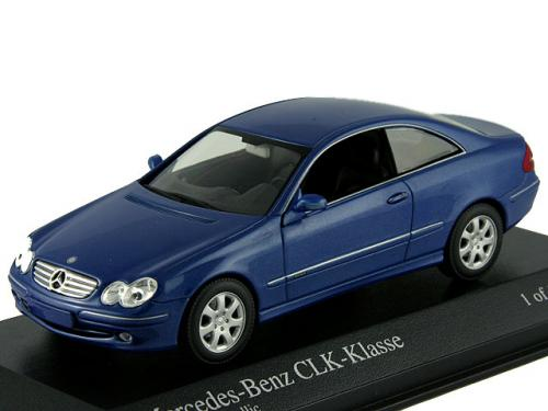 400031422 MINICHAMPS MERCEDES CLK COUPE 2002
