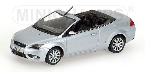 400084031 MINICHAMPS FORD FOCUS COUPE-CABRIOLET - 2008 - SILVER