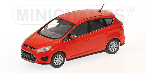 400089000 MINICHAMPS FORD C-MAX COMPACT - 2010 - RED