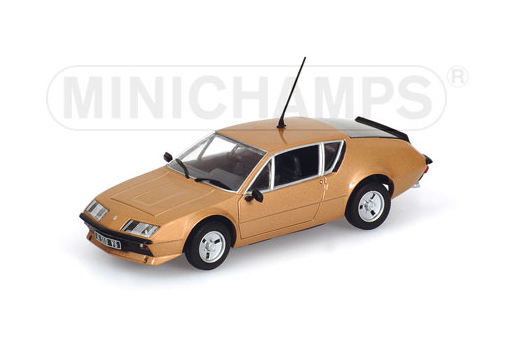 400113500 MINICHAMPS ALPINA RENAULT A310 1976(COPPER) 1:43