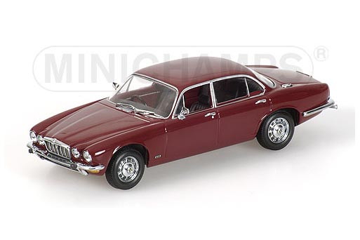 400130402 MINICHAMPS JAGUAR XJ12 SERIES II 1975 RED