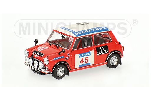 400661345 MINICHAMPS M MINI 1275S MkII RALLU Seen 1966 MAKIN