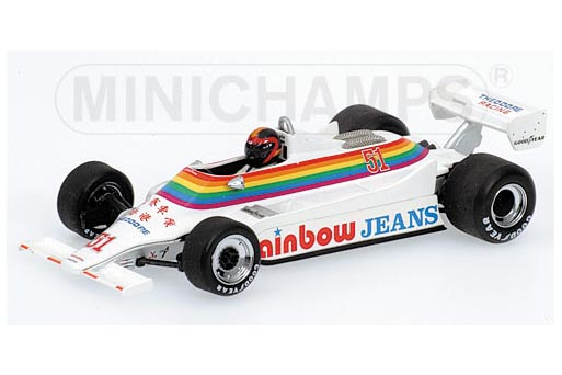 400800051 MINICHAMPS WILLIAMS FORD FW07 RAINBOW CANADA GP